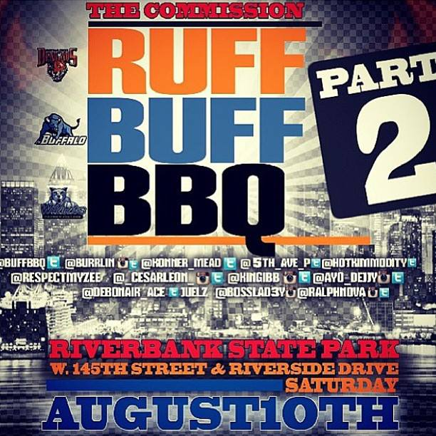 "Buffalo comes to NYC for their annual ""Ruff Buff Barbecue"""