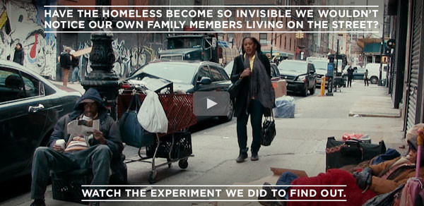 Have the Homeless Become Invisible?