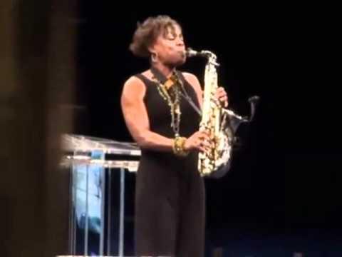 Gospel Saxophonist Angella Christie