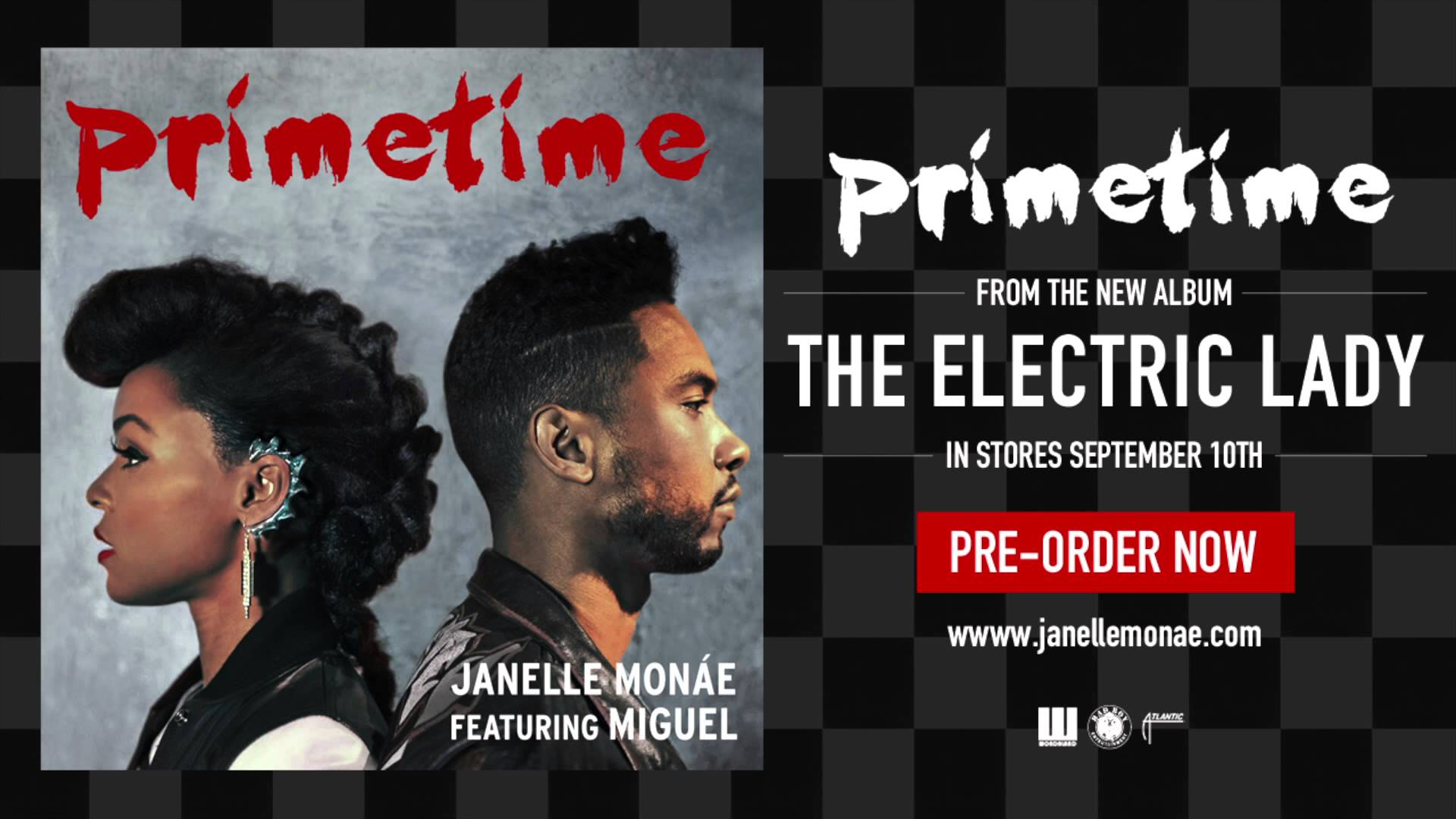 "New Music: Janelle Monae ft. Miguel ""Primetime"""