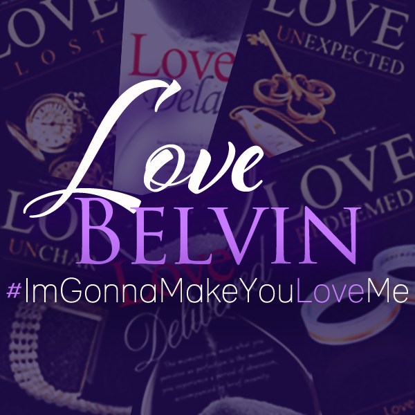 Author Love Belvin Reveals New Cover
