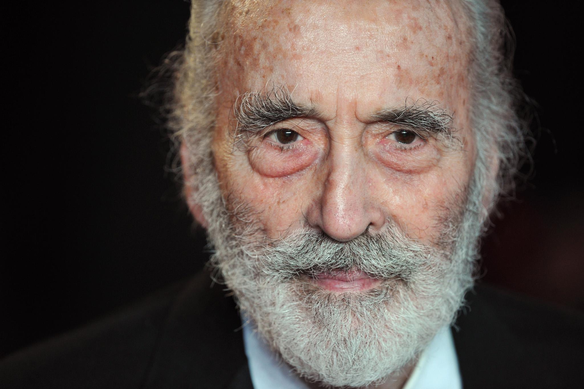Horror Hero Sir Christopher Lee Passes at 93