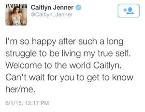 caitlyn jenner tweet