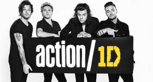 One Direction announce Action/1D