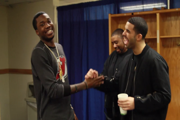 Drake vs. Meek Mill  (A couple tweets vs. A Couple Bars)