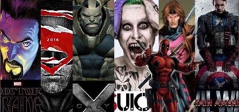Lucky 7: 2016's Year for Comic Book Movies