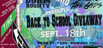 Dorm Room Television & Salute The Gods Clothing Back To School Giveaway!!!