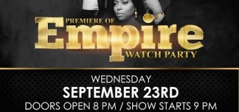 Empire Watch Party! 9.23.15