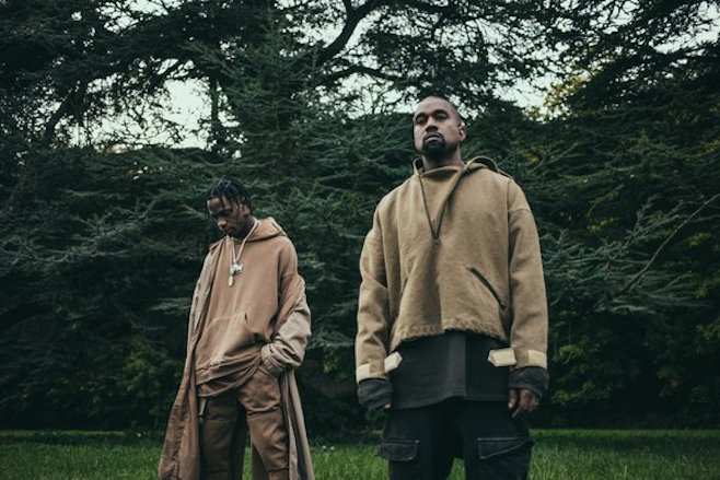 Travis Scott ft. Kanye West -Piss On Your Grave