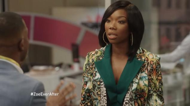 Brandy new sitcom Zoe Ever After