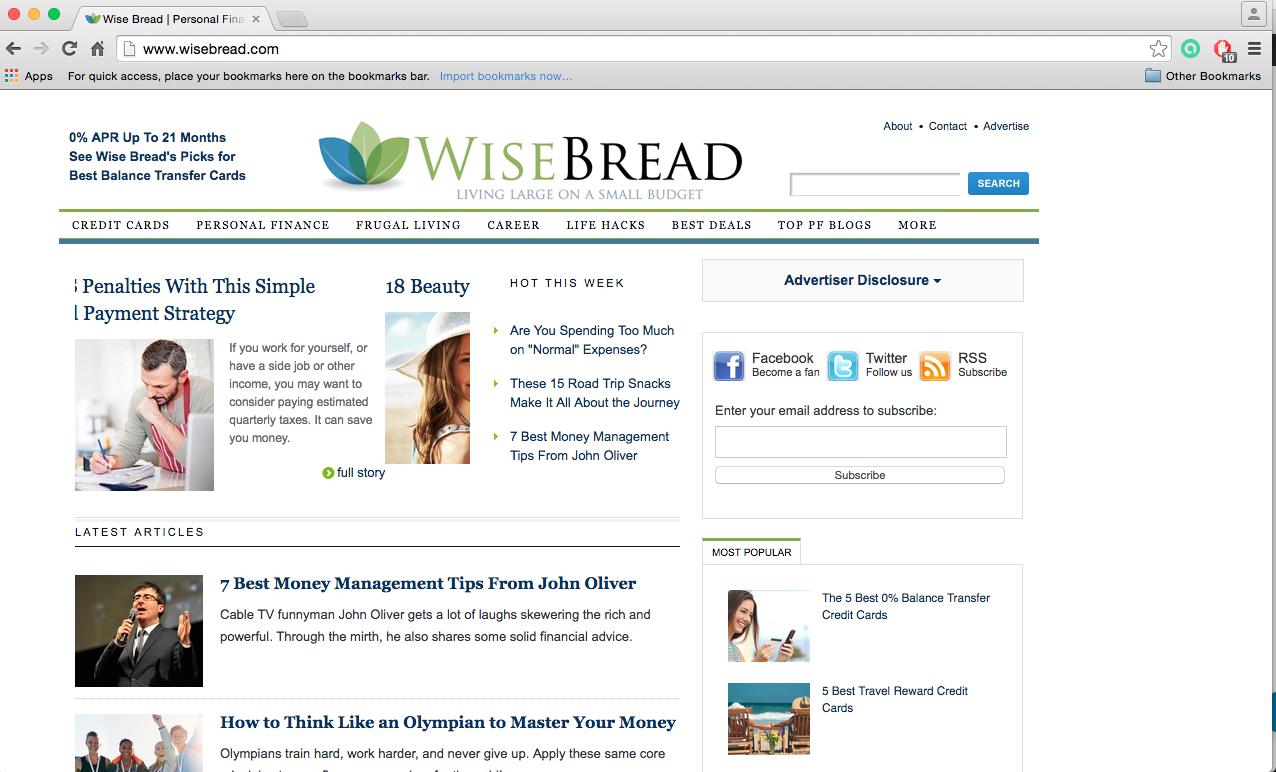 The Mazi K Review on Wisebread.Com